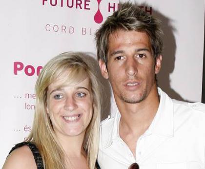 Andreia Coentrao con Fabio