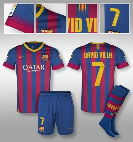 Camiseta Barcelona 2013-2014