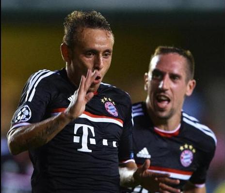 El Bayern se exhibió en Villarreal. Foto:lainformacion.com/Manuel Queimadelos Alonso/Getty Images