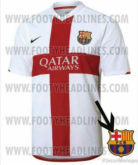 Tercera camiseta del Barcelona 2014 - 2015