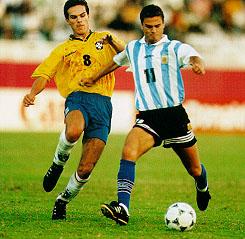 Leo Biagini en el Mundial sub 20