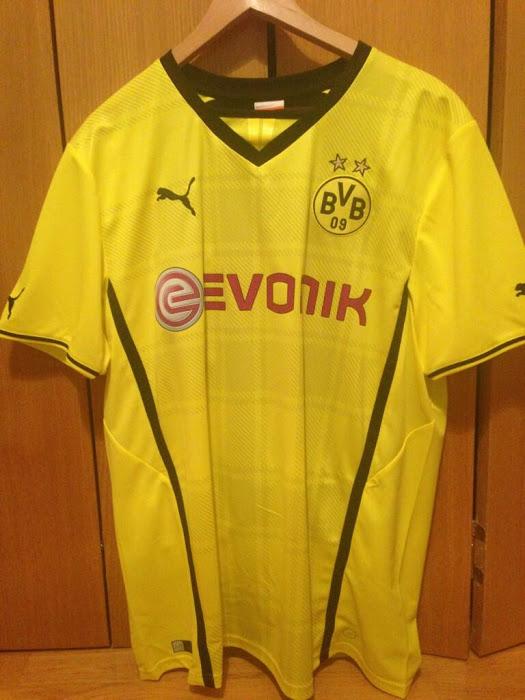 Camiseta del Borussia Dortmund Puma 2013-2014