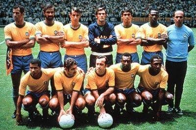 selección brasil 70