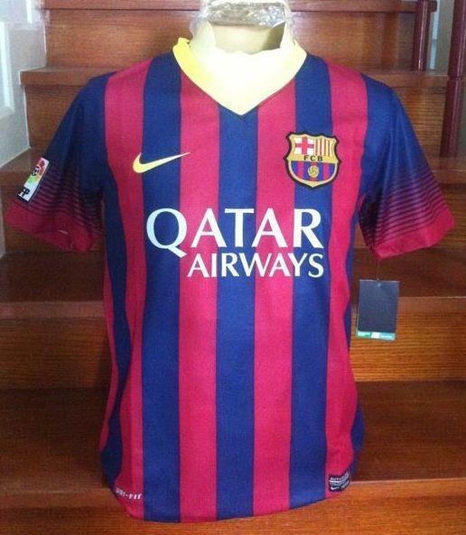 La Nueva Camiseta Del FC Barcelona 2013 2014 Ya Est   A La Venta En