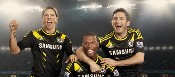 Tercera camiseta del Chelsea 2012-2013