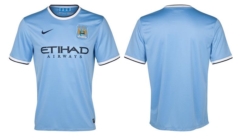 camiseta del manchester city para pes 2014