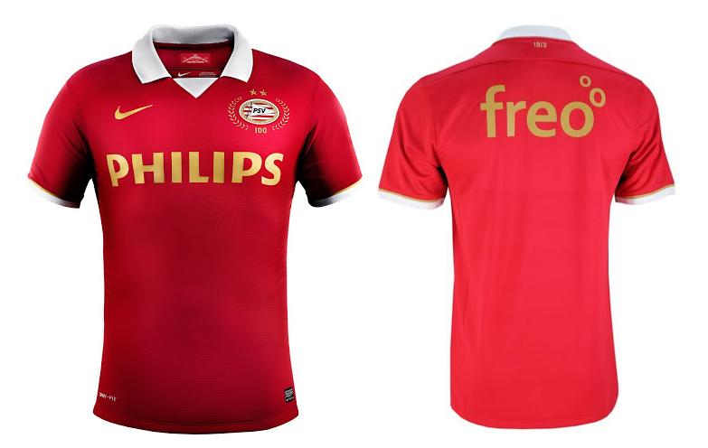 Camiseta centenario PSV Eindhoven