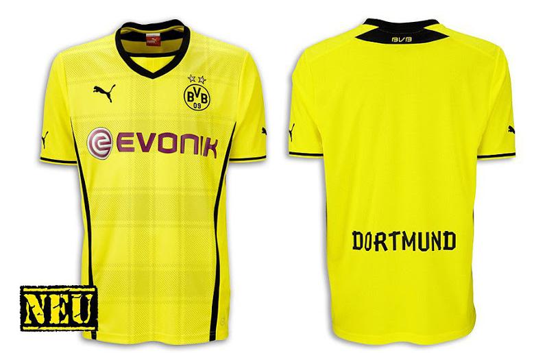 Camiseta Borussia Dortmund 2013 - 2014