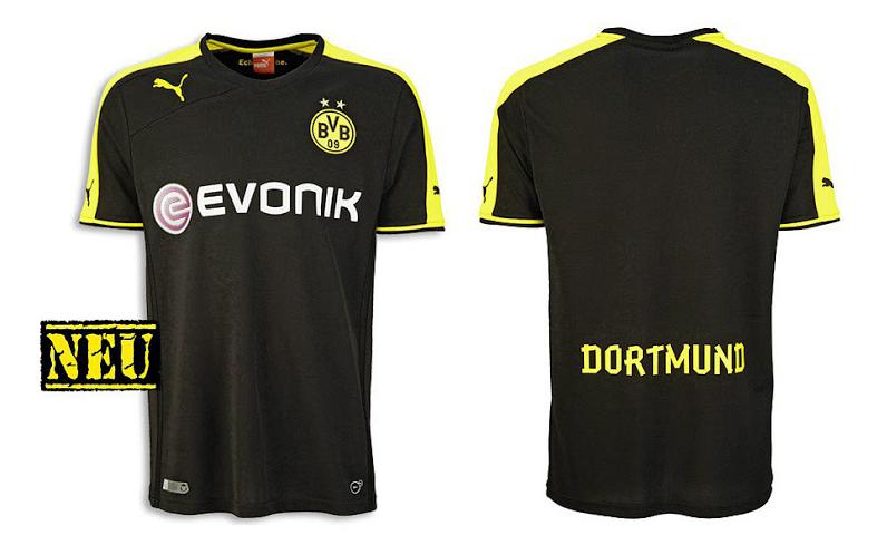 Camiseta suplente Borussia Dortmund 2013 - 2014