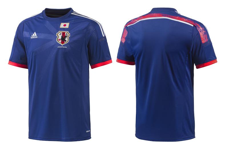 Camiseta de Japón para el Mundial Brasil 2014