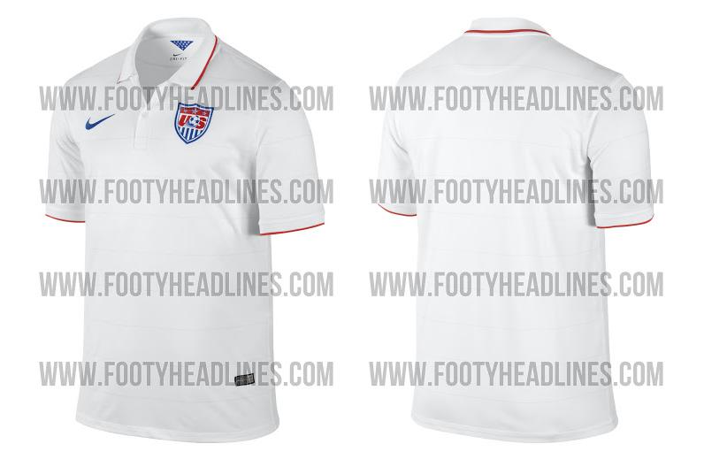 La camiseta de Estados Unidos para el Mundial de Brasil 2014