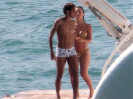 Neymar y Carol Abranches