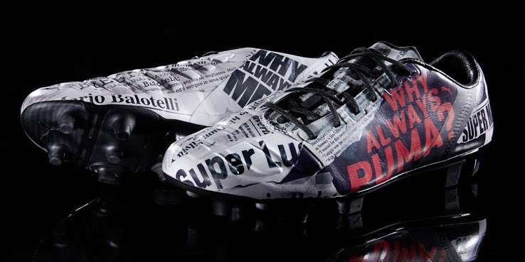 Nuevas botas Puma de Balotelli