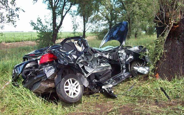 Accidente de coche de Diego Buonanotte