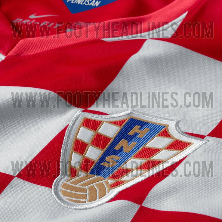La camiseta de Croacia para el Mundial de Brasil 2014