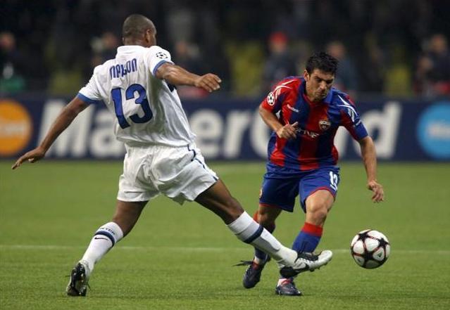 CSKA e Inter, viejos conocidos. Foto:lainformacion.com/EFE