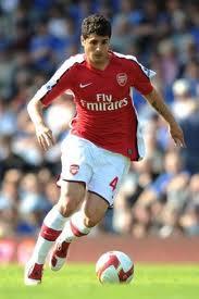 Fran Mérida con el Arsenal