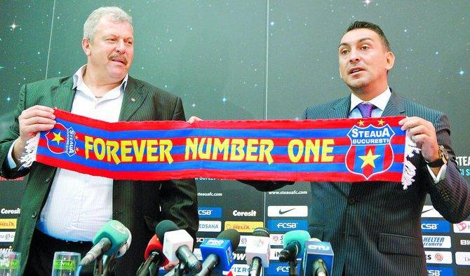 Helmuth Duckadam presidente del Steaua de Bucarest