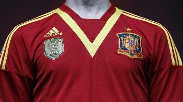 Camiseta de España para la Copa Confederaciones 2013