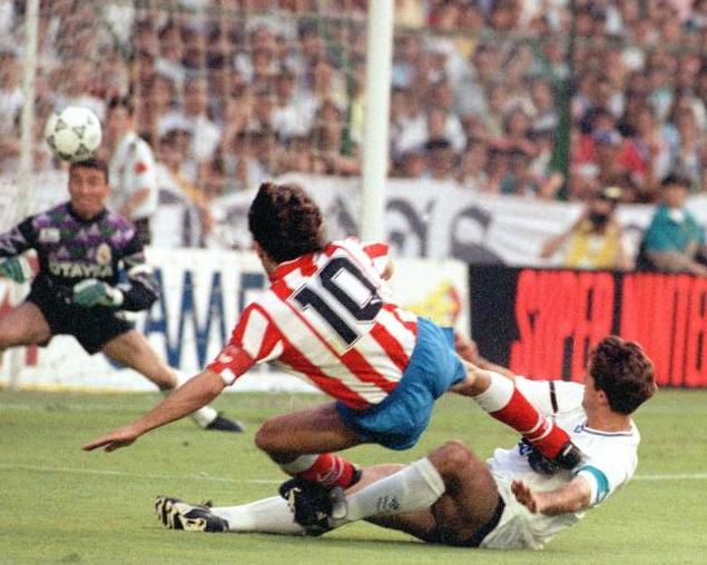 Futre fue el azote del Real Madrid. Foto:lainformacion.com/EFE