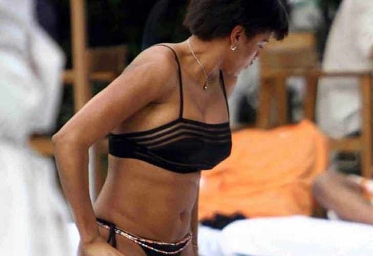 Georgette Eto'o antes de hacer topless