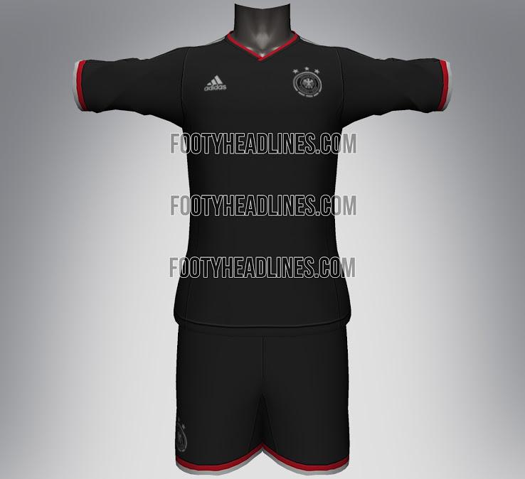 Camiseta suplente Alemania Mundial 2014