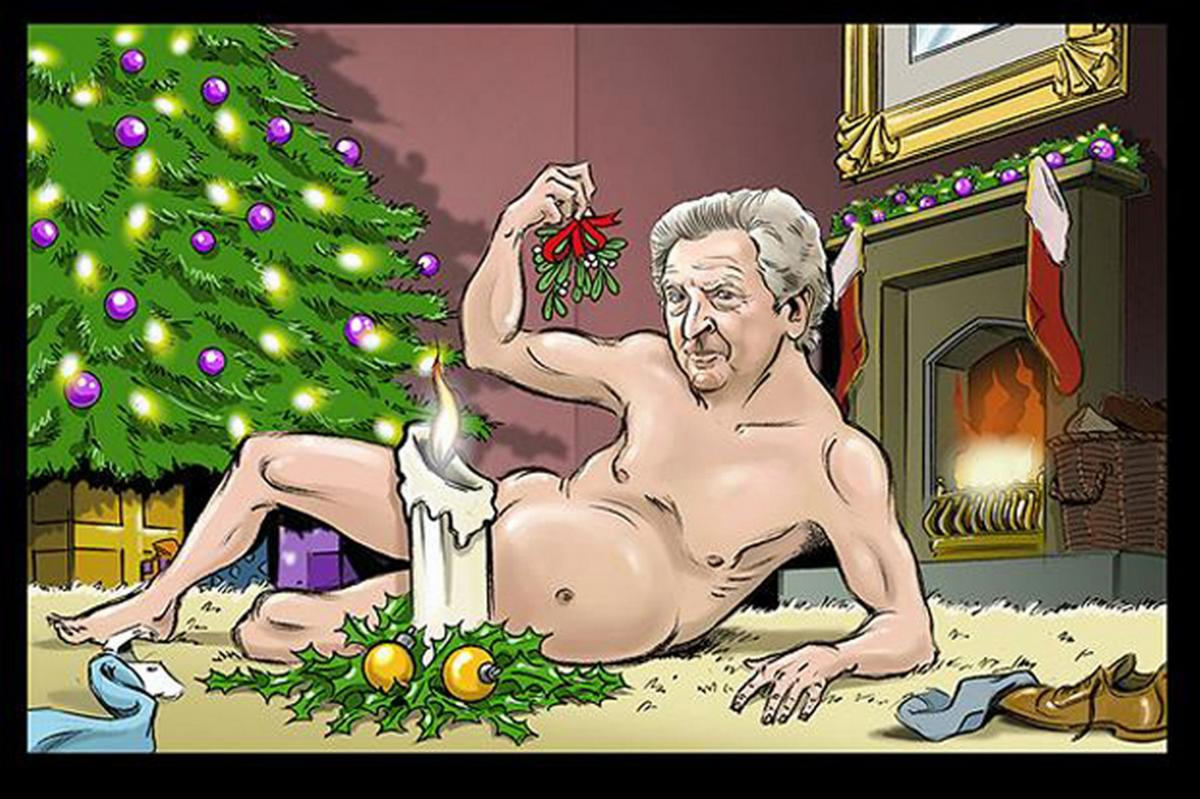 Calendario sexy de entrenadores: Roy Hodgson