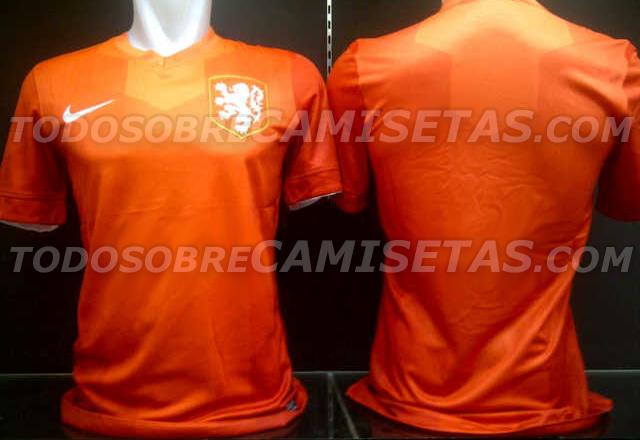 camiseta de Holanda para el Mundial