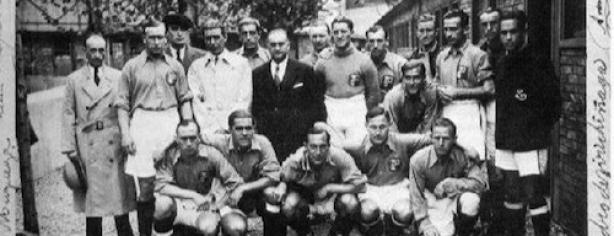 La selección de Euskadi, todo un mito durante la guerra