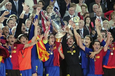 Champions League Barcelona Ganador