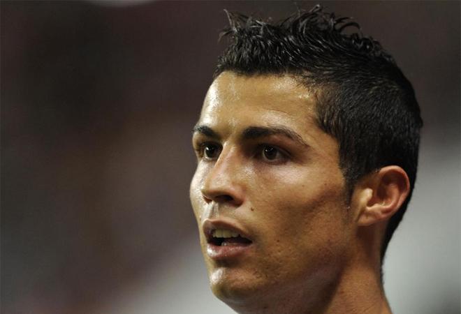 Cresta Cristiano Ronaldo, peinado 2012