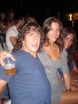 carles puyol and malena costa. los rumores: Malena Costa