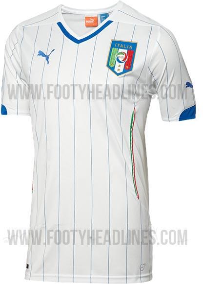 La nueva camiseta de Italia para el Mundial de Brasil 2014