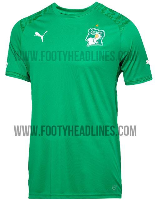 Camiseta suplente de Costa de Marfil Mundial Brasil 2014