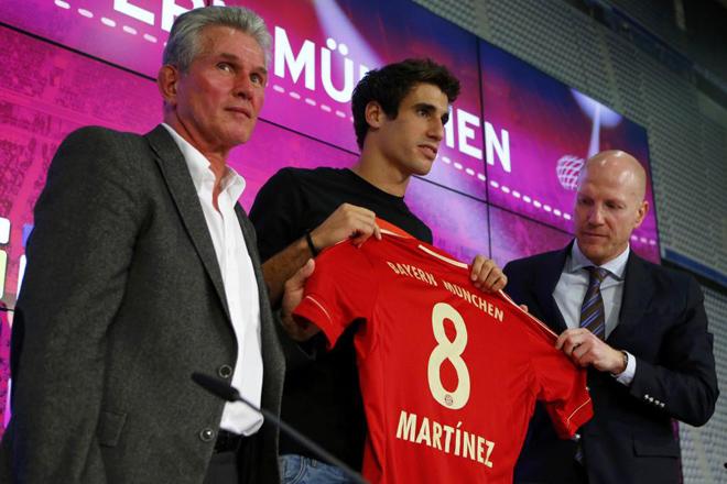 Javi Martínez presentado como jugador del Bayern de Munich