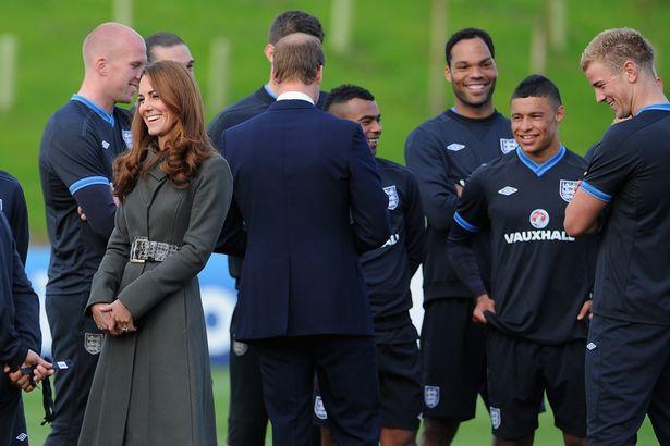 Joe Hart y Kate Middleton /mirror.co.uk