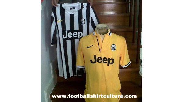 Camisetas Juventus 2013 - 2014
