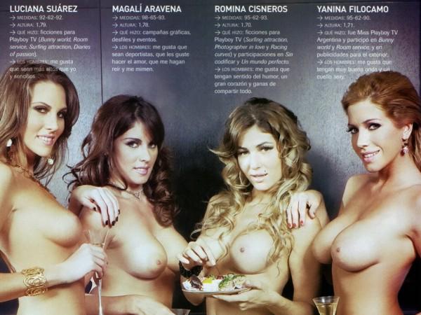 Magali Aravena en Playboy