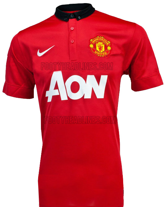 Manchester United Jersey 2013-2014