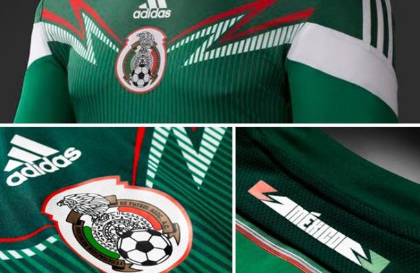 Camiseta de México para el Mundial 2014