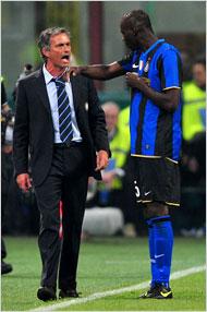 Mourinho y Balotelli