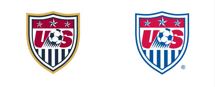 Nuevo escudo de la selección de Estados Unidos