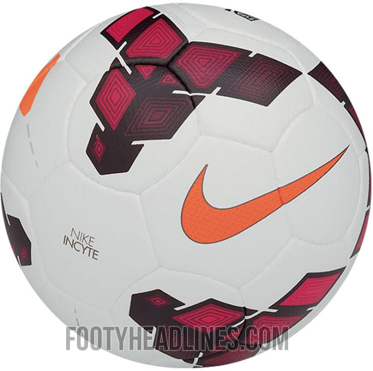 Balón oficial Nike Liga BBVA 2013-2014, Serie A y Premier League
