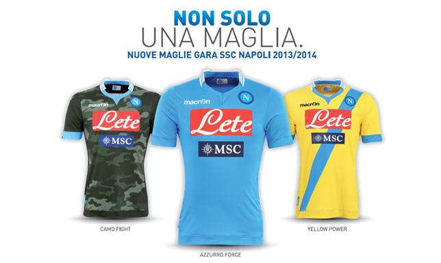Maglie Napoli 2013 - 2014