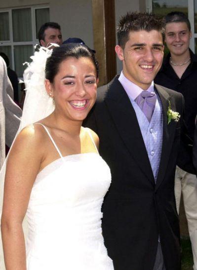 David Villa se casó con Patricia González