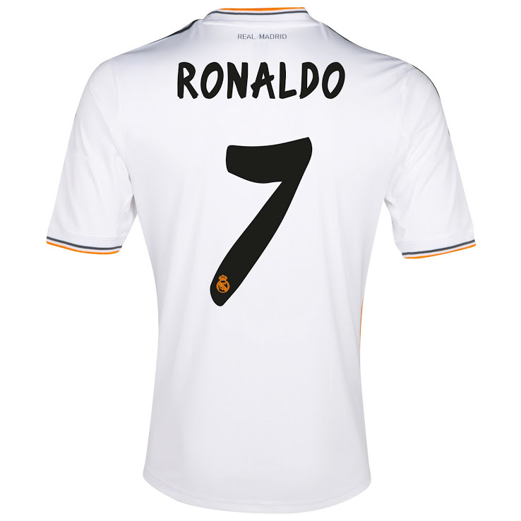 Camiseta Real Madrid 2013-2014 Cristiano Ronaldo