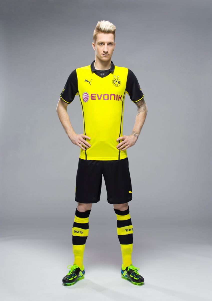 Camiseta alternativa Borussia Dortmund Champions League 2013-2014