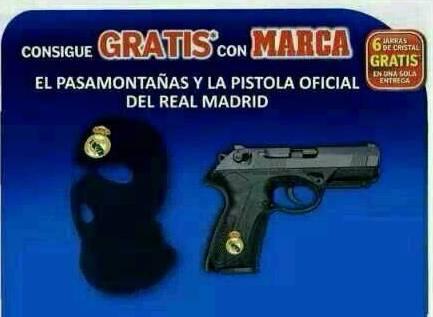Muñiz Fernández Montaje Marca Real Madrid