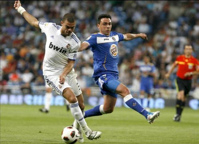 Real Madrid y Getafe se miden en el Bernabéu. Foto; lainformacion.com/EFE