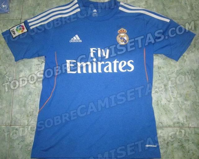 La equipación del Real Madrid 2013-2014